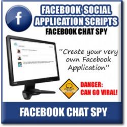 Facebook Chat Spy - Viral Facebook APP Turnkey Script!